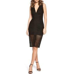 Bardot Black Cage dress slze M